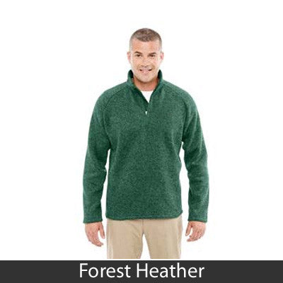Devon & Jones Adult Bristol Sweater Fleece Half-Zip - DG792 - EZ Corporate Clothing  - 4