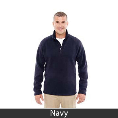 Devon & Jones Adult Bristol Sweater Fleece Half-Zip - DG792 - EZ Corporate Clothing  - 7