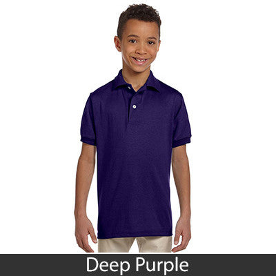 Jerzees Youth 5.6oz, 50/50 Jersey Polo With SpotShield - EZ Corporate Clothing  - 6