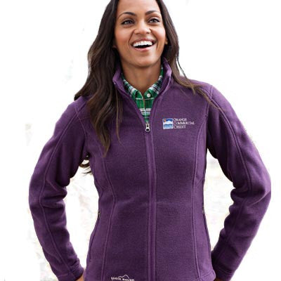 Eddie Bauer Ladies Full-Zip Fleece Jacket - EZ Corporate Clothing  - 1