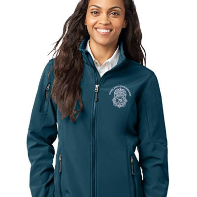 Eddie Bauer Ladies Soft Shell Jacket - EZ Corporate Clothing  - 1