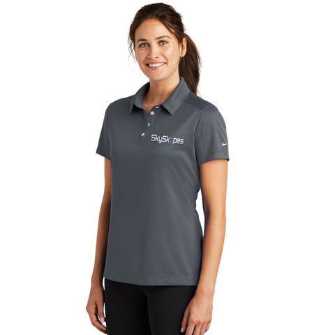 Nike Golf Ladies Dri-Fit Pebble Texture Polo