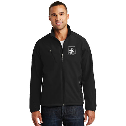 Port Authority Mens Textured Soft Shell