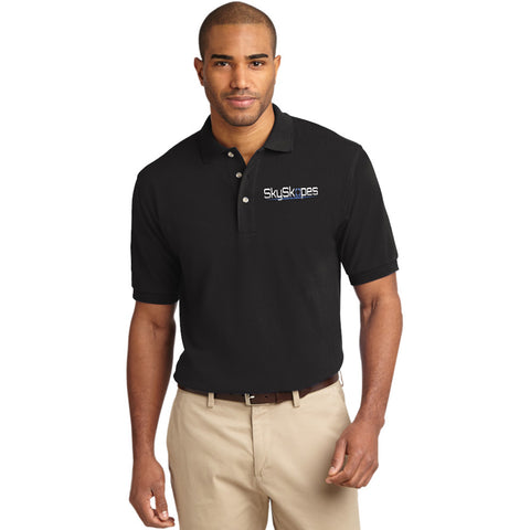 Port Authority Mens Pique Knit Polo