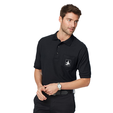 Port Authority Silk Touch Pique Knit Sport Shirt with Pocket