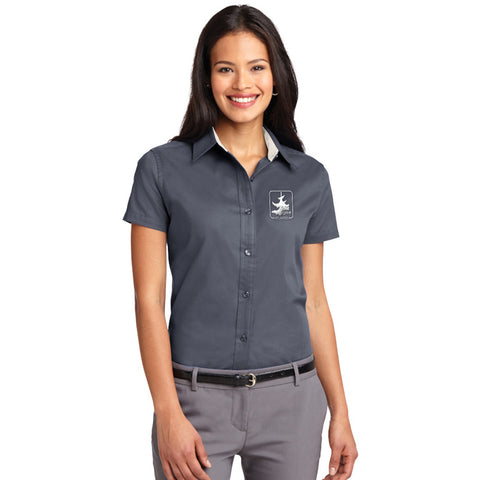 Port Authority Easy Care Ladies Short Sleeve
