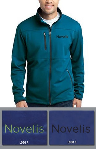 Port Authority Men's Pique Fleece Jacket - Novelis - Blue Glacier