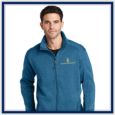 Port Authority Sweater Fleece Jacket - Stachowski Farms - F232