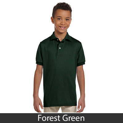 Jerzees Youth 5.6oz, 50/50 Jersey Polo With SpotShield - EZ Corporate Clothing  - 7