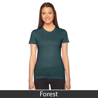American Apparel Fine Jersey Short Sleeve Womens T - EZ Corporate Clothing  - 14