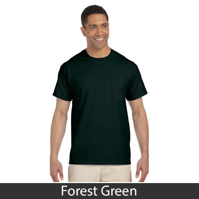 Gildan Adult Ultra Cotton T-Shirt with Pocket - EZ Corporate Clothing  - 5