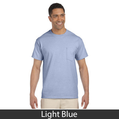 Gildan Adult Ultra Cotton T-Shirt with Pocket - EZ Corporate Clothing  - 6