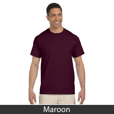 Gildan Adult Ultra Cotton T-Shirt with Pocket - EZ Corporate Clothing  - 7