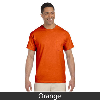 Gildan Adult Ultra Cotton T-Shirt with Pocket - EZ Corporate Clothing  - 9