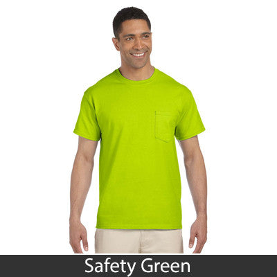 Gildan Adult Ultra Cotton T-Shirt with Pocket - EZ Corporate Clothing  - 12