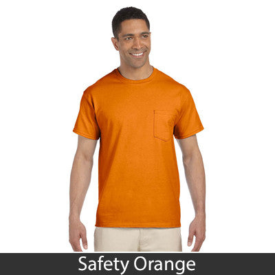 Gildan Adult Ultra Cotton T-Shirt with Pocket - EZ Corporate Clothing  - 13