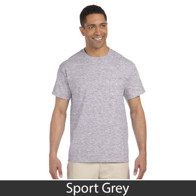 Gildan Adult Ultra Cotton T-Shirt with Pocket - EZ Corporate Clothing  - 15