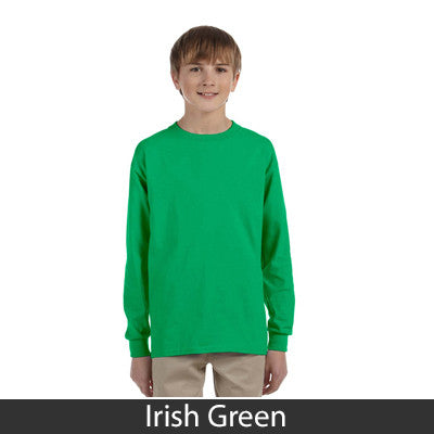 Gildan Youth Ultra Cotton Long-Sleeve T-Shirt - EZ Corporate Clothing  - 5