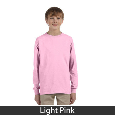 Gildan Youth Ultra Cotton Long-Sleeve T-Shirt - EZ Corporate Clothing  - 7