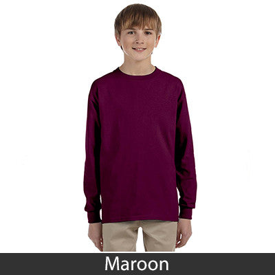 Gildan Youth Ultra Cotton Long-Sleeve T-Shirt - EZ Corporate Clothing  - 8