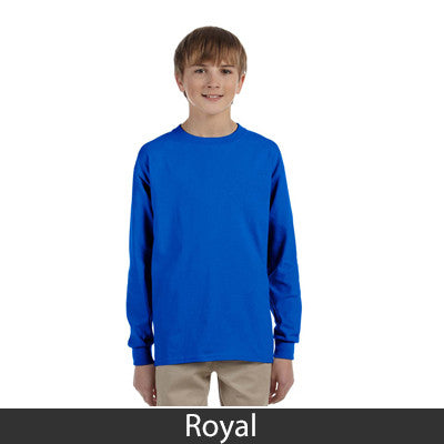 Gildan Youth Ultra Cotton Long-Sleeve T-Shirt - EZ Corporate Clothing  - 13