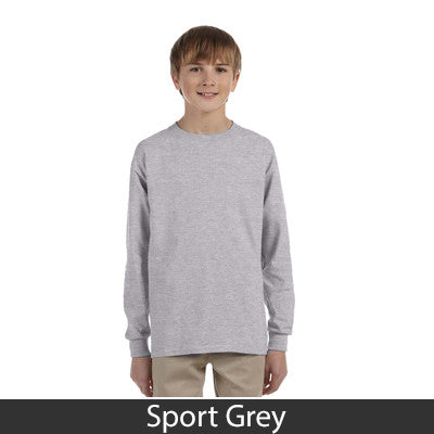 Gildan Youth Ultra Cotton Long-Sleeve T-Shirt - EZ Corporate Clothing  - 15