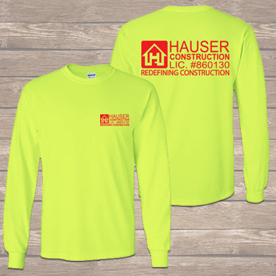 Construction Worker Special - Workwear - Custom Long Sleeve T-Shirt - G240
