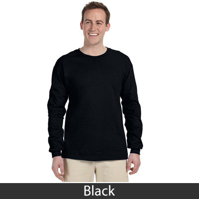 Gildan Adult Ultra Cotton Long-Sleeve T-Shirt with Embroidery - EZ Corporate Clothing  - 3