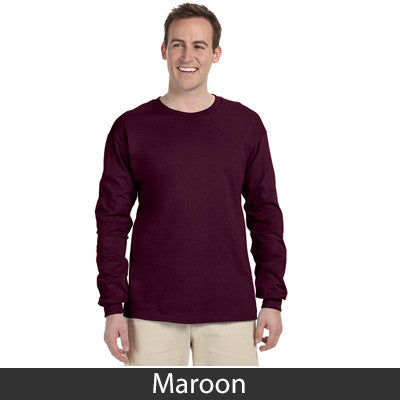 Gildan Adult Ultra Cotton Long-Sleeve T-Shirt - EZ Corporate Clothing  - 15