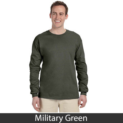 Gildan Adult Ultra Cotton Long-Sleeve T-Shirt - EZ Corporate Clothing  - 16
