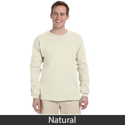 Gildan Adult Ultra Cotton Long-Sleeve T-Shirt with Embroidery - EZ Corporate Clothing  - 9