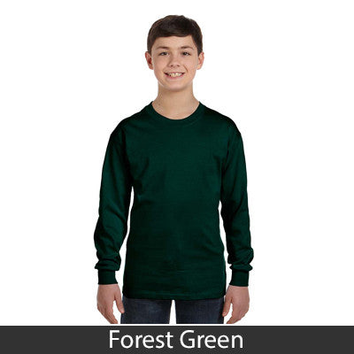 Gildan Youth Heavy Cotton Long-Sleeve T-Shirt - EZ Corporate Clothing  - 4