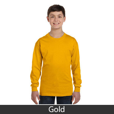 Gildan Youth Heavy Cotton Long-Sleeve T-Shirt - EZ Corporate Clothing  - 6