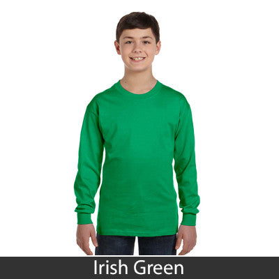 Gildan Youth Heavy Cotton Long-Sleeve T-Shirt - EZ Corporate Clothing  - 7