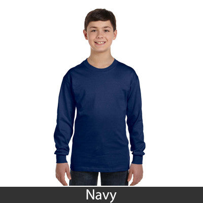 Gildan Youth Heavy Cotton Long-Sleeve T-Shirt - EZ Corporate Clothing  - 8