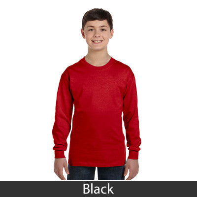 Gildan Youth Heavy Cotton Long-Sleeve T-Shirt - EZ Corporate Clothing  - 10