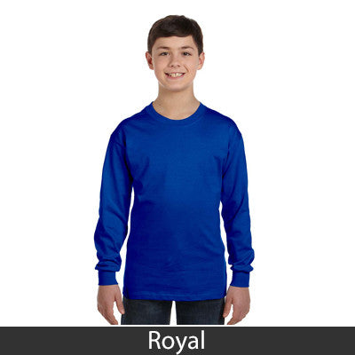 Gildan Youth Heavy Cotton Long-Sleeve T-Shirt - EZ Corporate Clothing  - 11