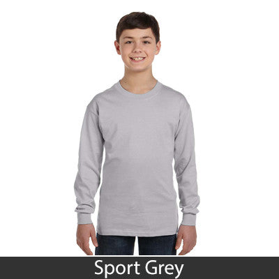 Gildan Youth Heavy Cotton Long-Sleeve T-Shirt - EZ Corporate Clothing  - 12