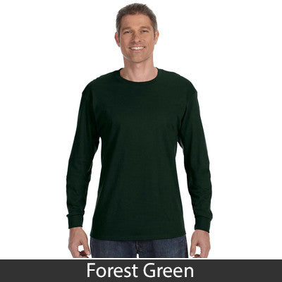 Gildan Adult Heavy Cotton Long-Sleeve T-Shirt - EZ Corporate Clothing  - 6