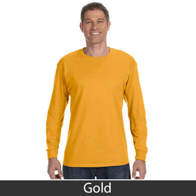 Gildan Adult Heavy Cotton Long-Sleeve T-Shirt - EZ Corporate Clothing  - 8