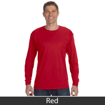 Gildan Adult Heavy Cotton Long-Sleeve T-Shirt - EZ Corporate Clothing  - 13