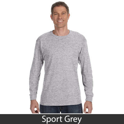 Gildan Adult Heavy Cotton Long-Sleeve T-Shirt - EZ Corporate Clothing  - 15