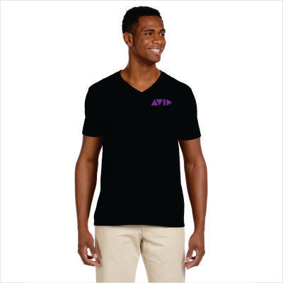 Gildan Adult Softstyle V-Neck T-Shirt for AVID - G64V