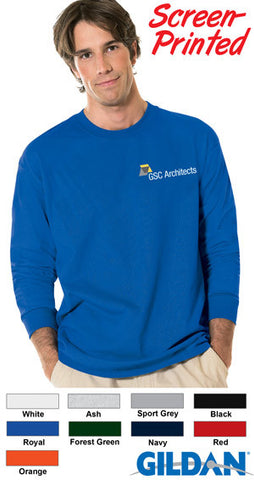 Gildan Adult DryBlend Long-Sleeve T-Shirt - EZ Corporate Clothing  - 2