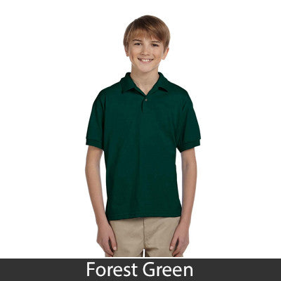 Gildan Youth Ultra Blend Jersey Polo - EZ Corporate Clothing  - 5
