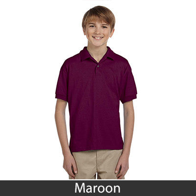 Gildan Youth Ultra Blend Jersey Polo - EZ Corporate Clothing  - 10