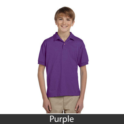 Gildan Youth Ultra Blend Jersey Polo - EZ Corporate Clothing  - 12