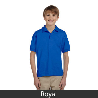 Gildan Youth Ultra Blend Jersey Polo - EZ Corporate Clothing  - 14