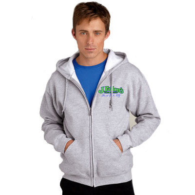 Gildan Adult DryBlend Full-Zip Hooded Sweatshirt