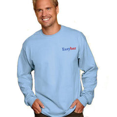 Gildan Adult Ultra Cotton Long-Sleeve T-Shirt with Embroidery - EZ Corporate Clothing  - 1